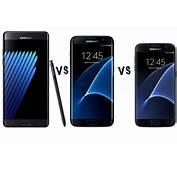 Samsung Galaxy S7 Vs Note 7 – What's The Difference