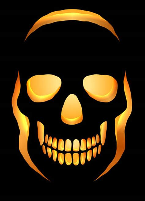skeleton pumpkin templates best photos of skeleton pattern easy skull pumpkin