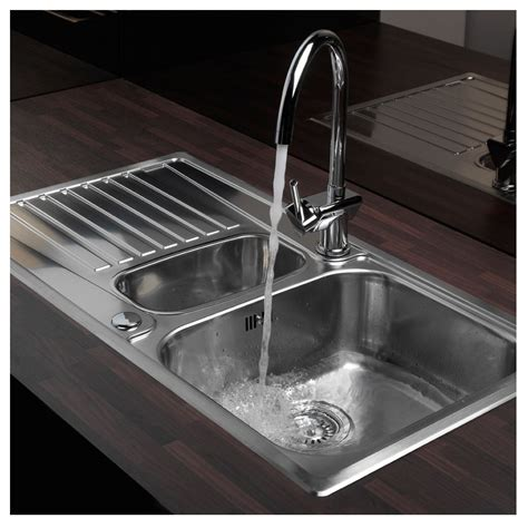 inset kitchen sinks reginox centurio 1 5 bowl inset kitchen sink sinks taps com