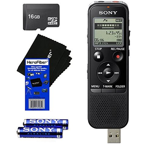 Usb Voice Recorder With Memory Card Slot Uj88 sony stereo ic mp3 digital voice recorder 4gb microsd card slot usb portable new ebay