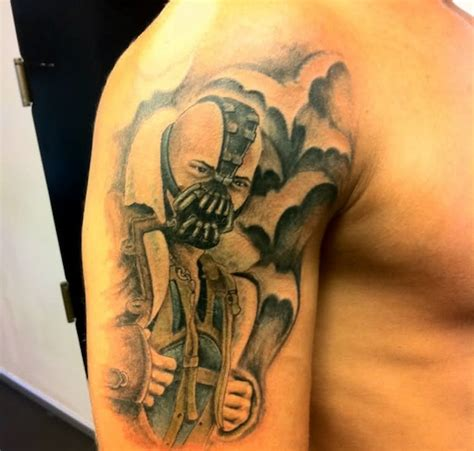 dark knight tattoo check out a fan s rises
