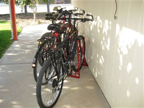 Angled Bike Rack by 5 Bike Angled Rack
