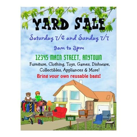 17 best images about garage sale on pinterest flyer