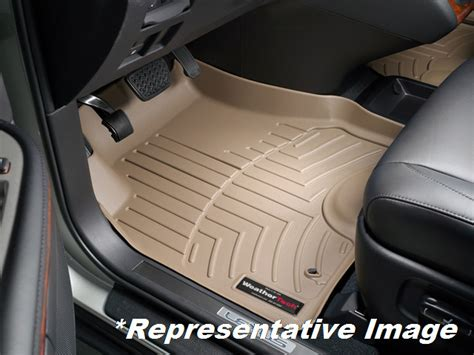 weathertech 174 floor mats floorliner for lexus rx 350 2007 2009 tan ebay