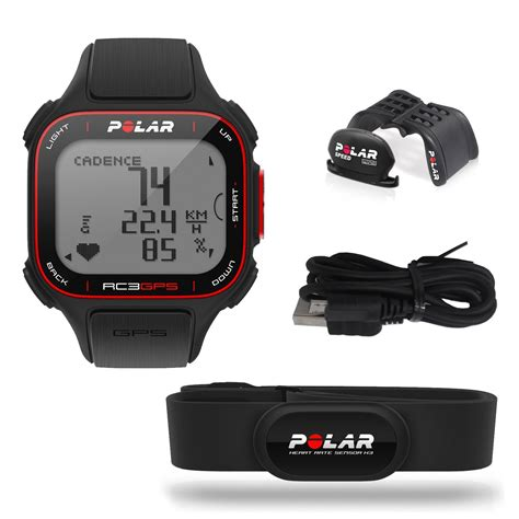Monitor Gps polar rc3 gps bike rate monitor sweatband