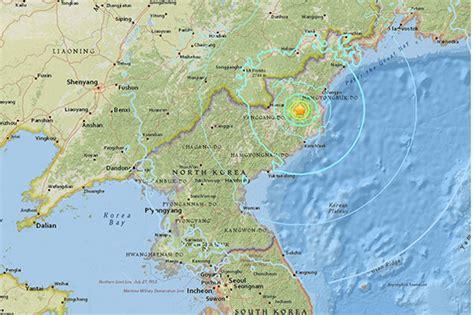 earthquake north korea quake jolts area near n korea n test site
