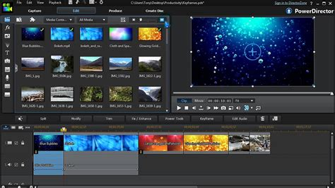 tutorial for video editing how to edit videos productively cyberlink powerdirector
