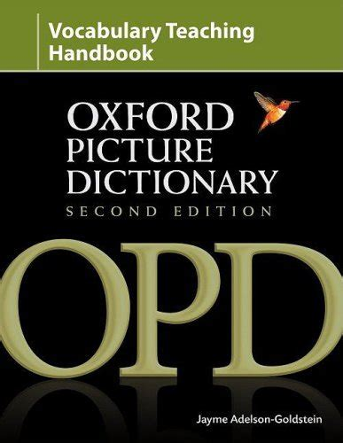 The Contemporary Dictionary Second Edition the oxford picture dictionary second edition vocabulary handbook the oxford picture