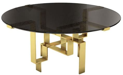 round contemporary ii dining table dering hall dering hall buy round metropolis dining table original
