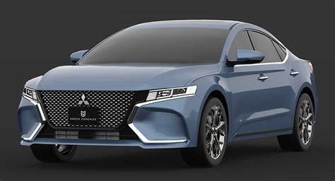 Mitsubishi Usa 2020 by 2020 Mitsubishi Gallant Study Envisions The Unlikely