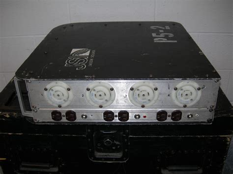 Power Lifier Phase Lab hb sound power distro