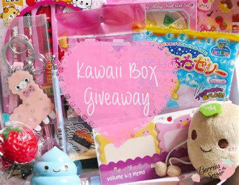 Kawaii Giveaway - kawaii box giveaway berries in the snow