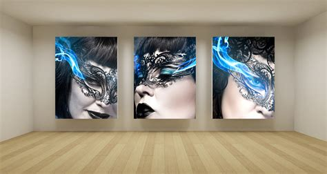 ways  display canvas wall art