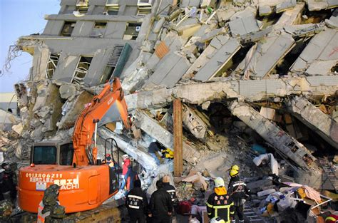 earthquake korea developer of collapsed taiwanese building arrested after