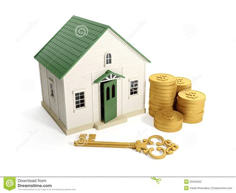 golden house miniature gold toy stock illustration buying a home stock photography image 25945052