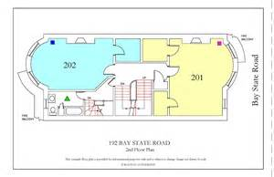 bu housing floor plans 192 bay state road 187 housing boston university