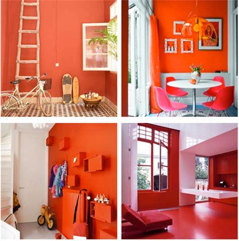 Pareti Color Rosso by Colorare Le Pareti Di Casa Con Tendenze Alla Moda