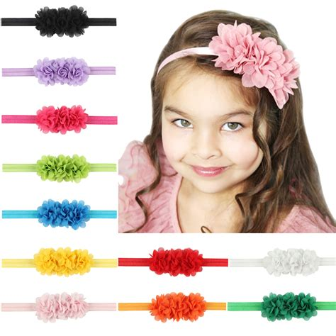 44 best baby hair accessories images on hair band lace children elastic headband infant flower