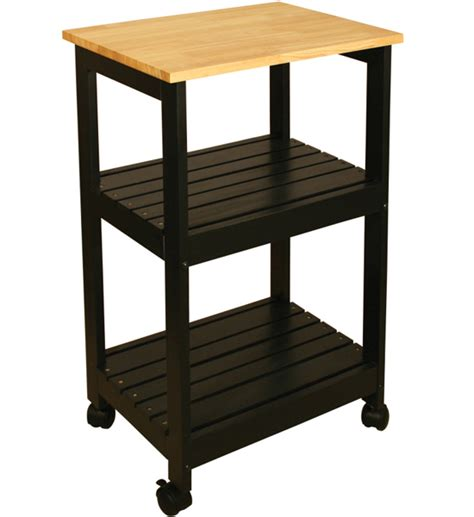 Wooden Kitchen Cart by Wooden Kitchen Cart With Shelves In Kitchen Island Carts