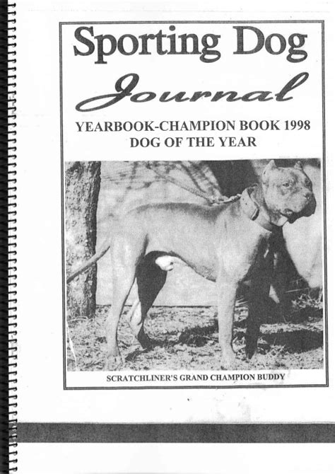 sporting journal sporting journal yearbook 1998