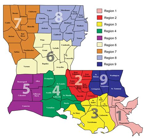 louisiana governor map about ldh department of health state of louisiana