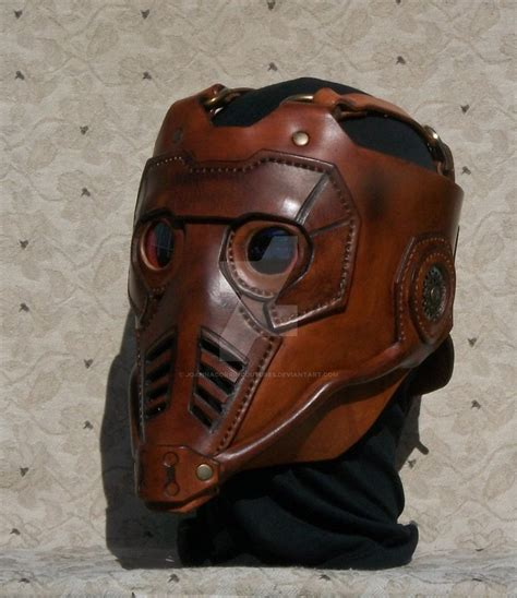 leather mask custom mask from gotg by lafuellingfacades on deviantart