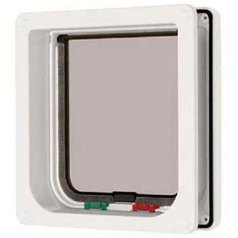 doors with cat flap cat mate 4 way locking cat flap with door liner white we