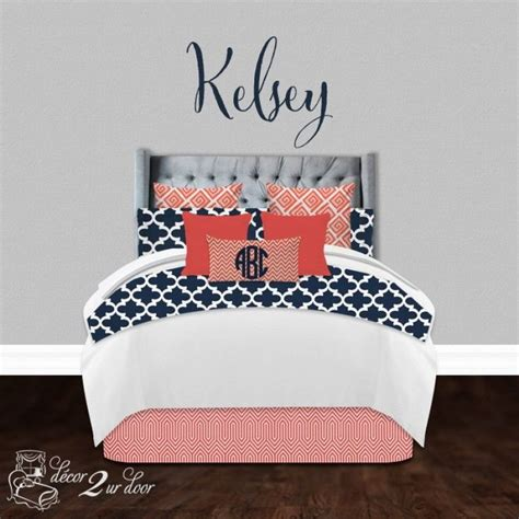 navy and coral bedding 25 best ideas about navy and coral bedding on pinterest