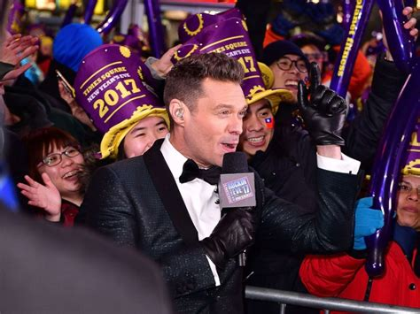 abc seacrest new years seacrest happy that carey returning for new