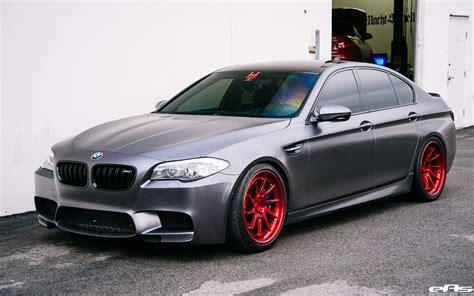 custom bmw frozen gray f10 bmw m5 gets more power and custom wheels
