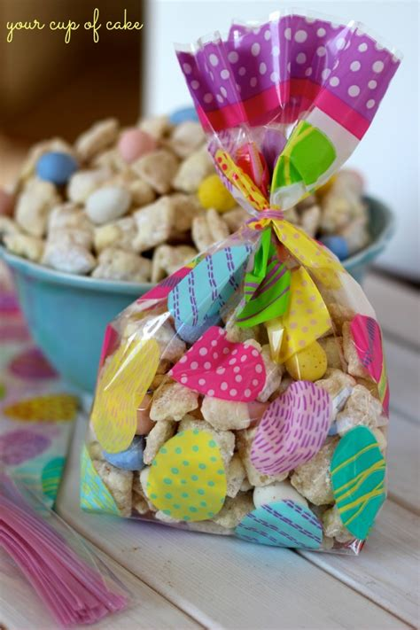 easter puppy chow lemon cadbury puppy chow your cup of cake