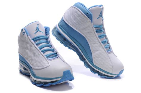 authentic air 13 max white light blue for on sale