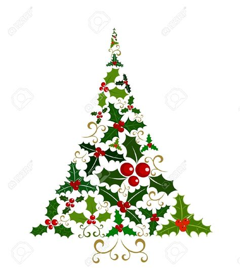 abstract christmas tree clipart png clipartxtras