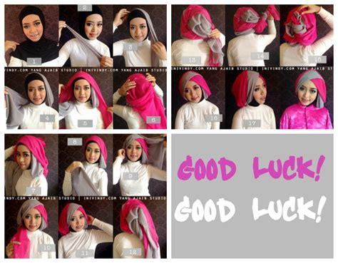 tutorial make up sederhana untuk muslimah 10 tutorial hijab paris untuk wisuda meski sederhana