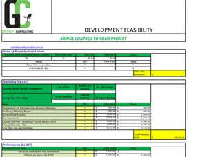 real estate feasibility study template pin sle of feasibility study for aland area improvement