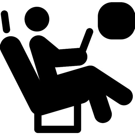 airplane seat free other icons