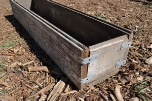 diy rustic wood planter box make lovely