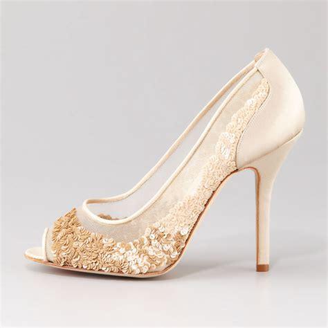 Escarpins De Mariage Ivoire Votre Atout Indispensable Sparkling Wedding Shoes