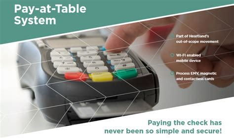 pay at table pos seattle tacoma point of sale pay at the table emv