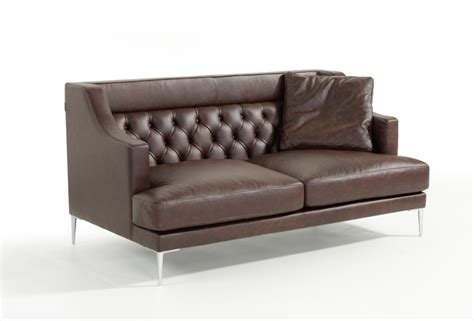 italian leather sofa sets estro salotti ulysses modern brown italian leather sofa