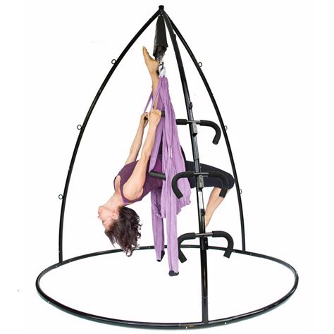yoga swing installation save big on yoga swing trapeze bar stand bundle