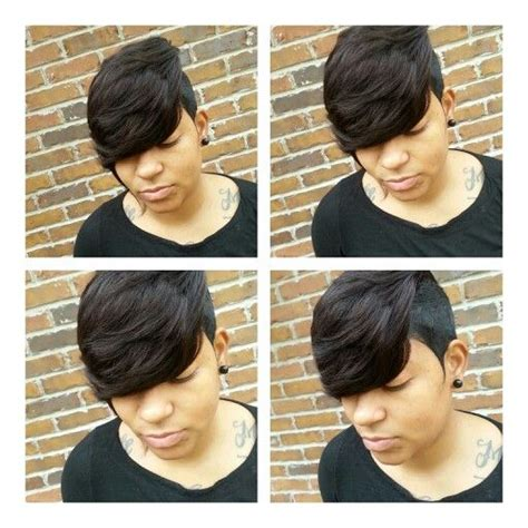 27 piece with swoop black women 17 images about short weave styles on pinterest short