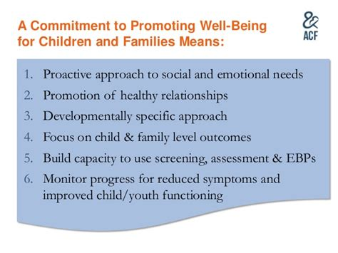 Commitment To Recovery Letter raising the bar child welfare s shift towards well being