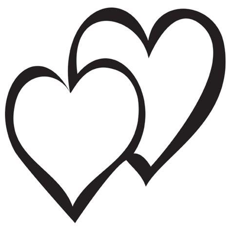 double heart images clipart best