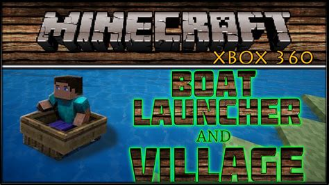 how to make a boat dispenser on minecraft quot minecraft quot xbox 360 boat launcher dispenser and my