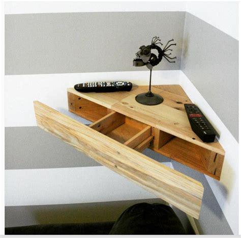 floating corner desk upcycled corner floating shelf desk pallets upcycle