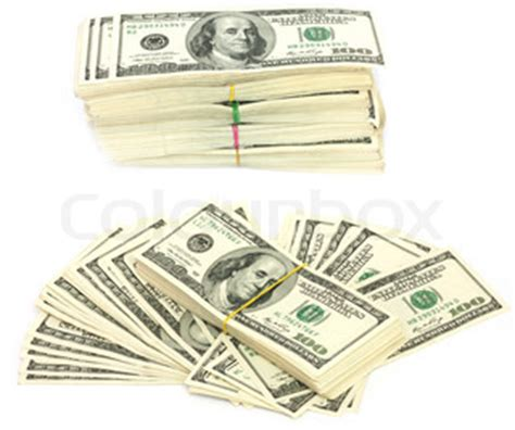 Stack of $100 bills | Stock Photo | Colourbox $100 Bill Stack