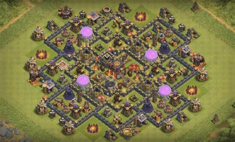 coc layout to protect resources clash of clans th 10 farming base car interior design