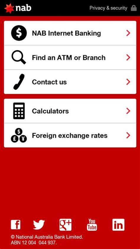 net nab bank nab android apps on play