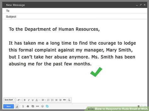How To Respond To how to respond to rude email at work 13 steps with pictures